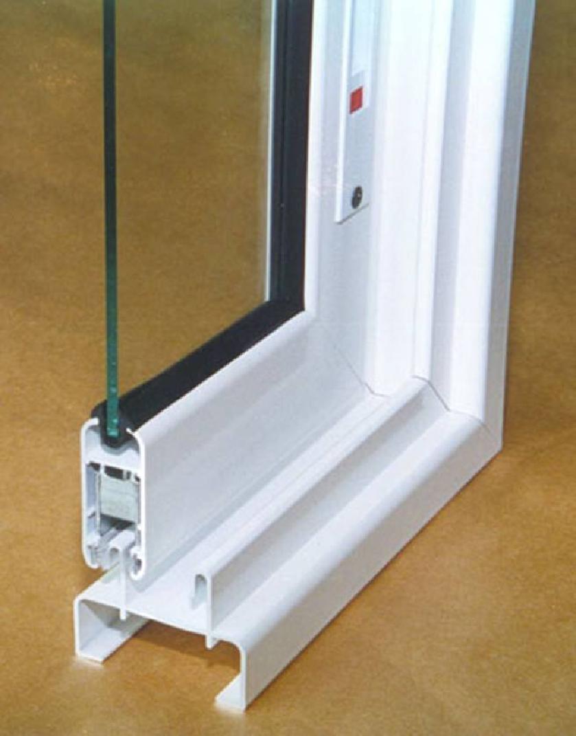 Профиль для раздвижных окон на балконе.